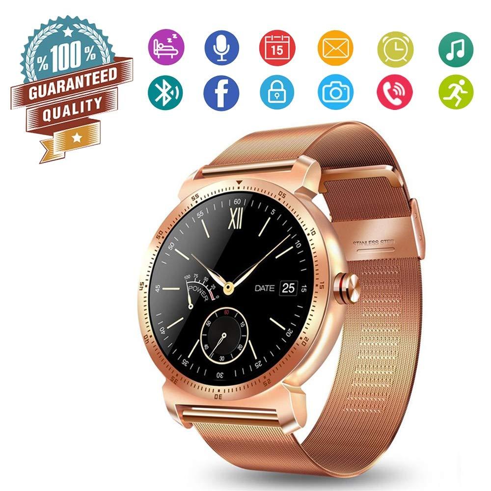 Smart Watch Wearable HR Fitness Tracker con Llamadas de Voz ...