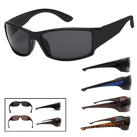 Amazon.com: 2 gafas de sol para hombre, deportivas, para ...