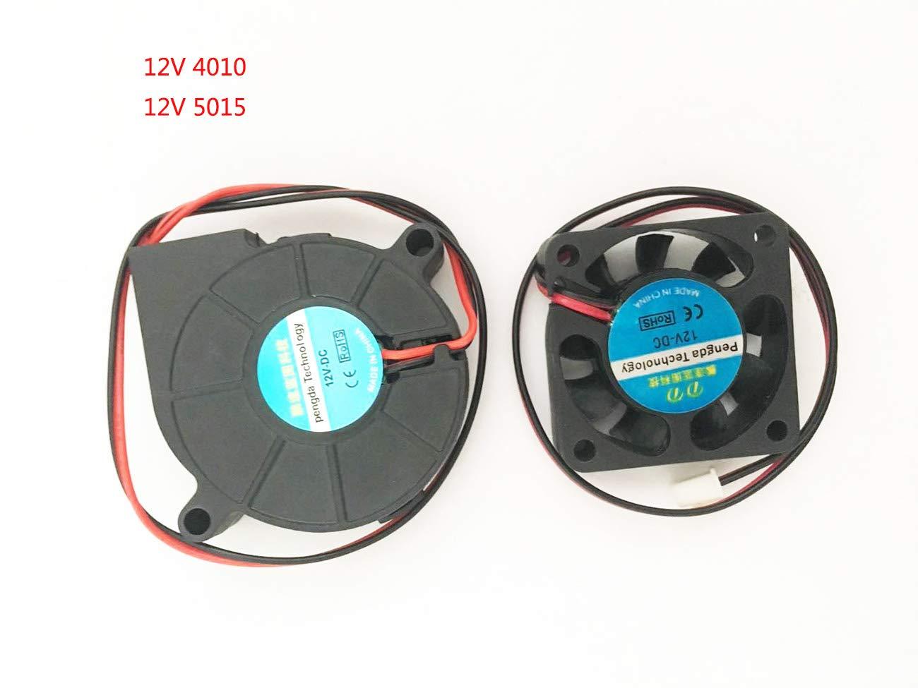 3D Printer Fan Blower Fan DC 12V 40x10 50x15 Extruder Coo...