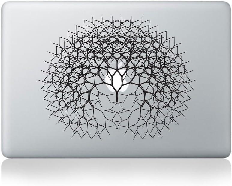 Fractal Tree Vinyl Sticker for MacBook (13-inch MacBook and 15-inch MacBook)