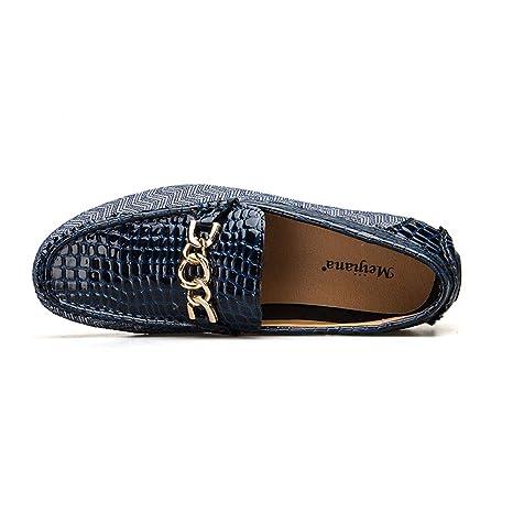 Zapatos Casuales de los Hombres, Moda Primavera Verano Estilo Suave Mocasines Hombres Loafers Zapatos de