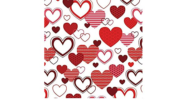 amazoncom xoxo valentines day wrapping paper 6ft roll by best wrapping paper health personal care - Valentines Day Wrapping Paper