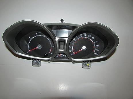 11-11 Ford Fiesta Instrument Cluster Speedometer 67,497 Warranty #23034
