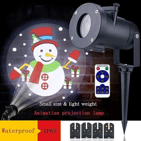 Zpyh Paisaje de luz del proyector Impermeable Foco del Copo de ...