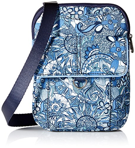 Sakroots Wynnie Small Flap Messenger-Nylon, blue steel spirit desert ()