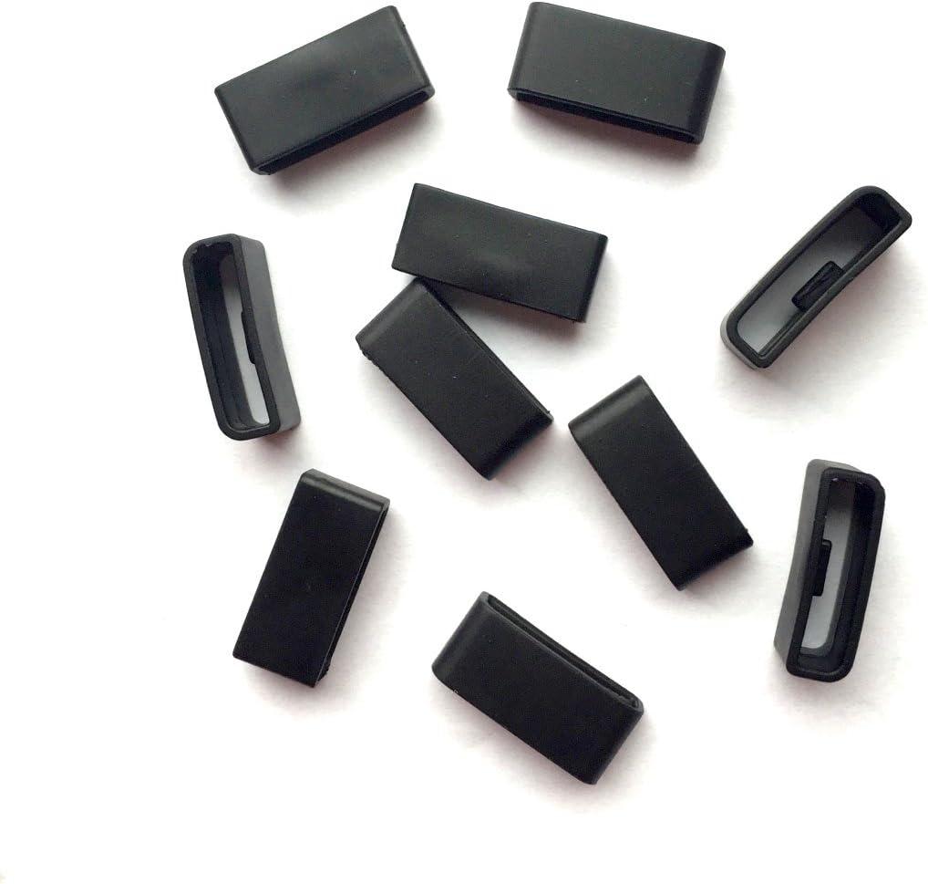 Anti-Lost Security Loop Fastener Keeper Band Clasp Garmin Vivofit 1 silicon