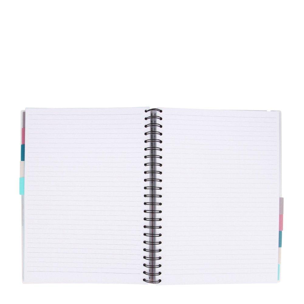 too molti linguette A4/slogan 10/oggetto notebook