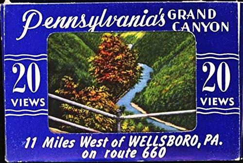 """Pennsylvania's Grand Canyon  """"20 Miniature Linen Views"""