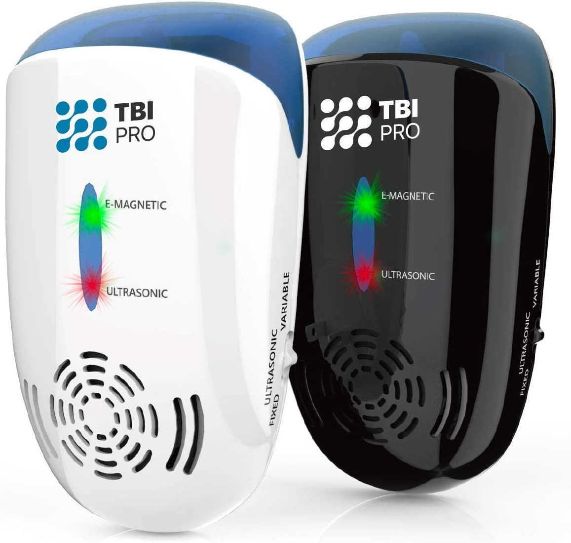TBI Pro Ultrasonic Pest Repeller Wall Plug-in - Electromagnetic & Ionic Indoor Repellent Anti Mouse, Rats, Roach, Ants, Mosquito, Cockroach Control - Safe Quiet Electronic Device -4000 Sq.ft (2-Pack) : Garden & Outdoor