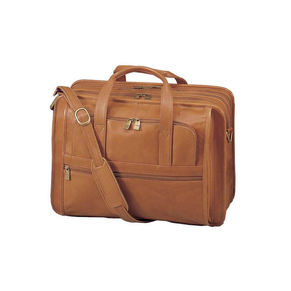 Cowhide Leather Briefcase Color Cognac