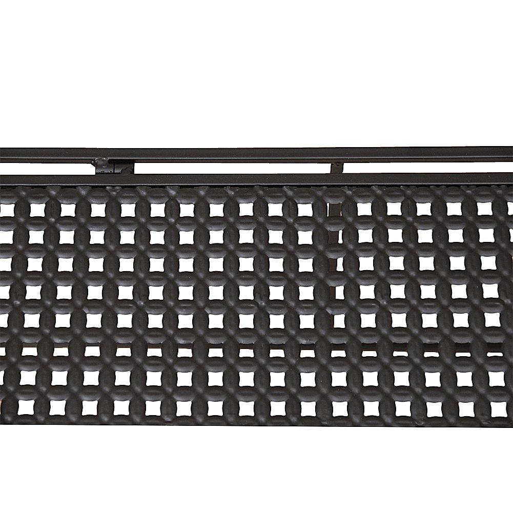 Dazone Stabiles Mikrowellen-Regal aus Metall, für die ...