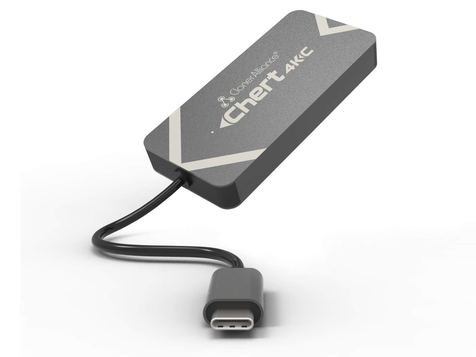 ClonerAlliance Chert 4KC, HDMI to USB-C Video Capture Dongle, Ultra Low Latency, Play Game Consoles on Laptop, Driver Free, 4K Input Supported. by ClonerAlliance
