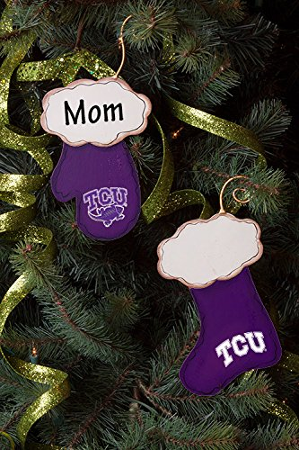Image Unavailable - Amazon.com : TCU Christmas Stocking And Mitten Ornament Set For
