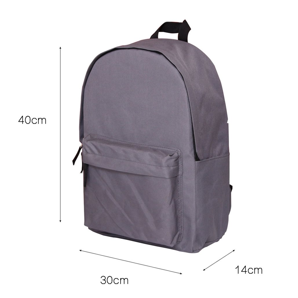 Dellukee Classic School Backpack For Teens Lightweight Durable Canvas Casual Daypack