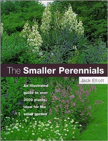 The Smaller Perennials A Comprehensive A Z Jack Elliott