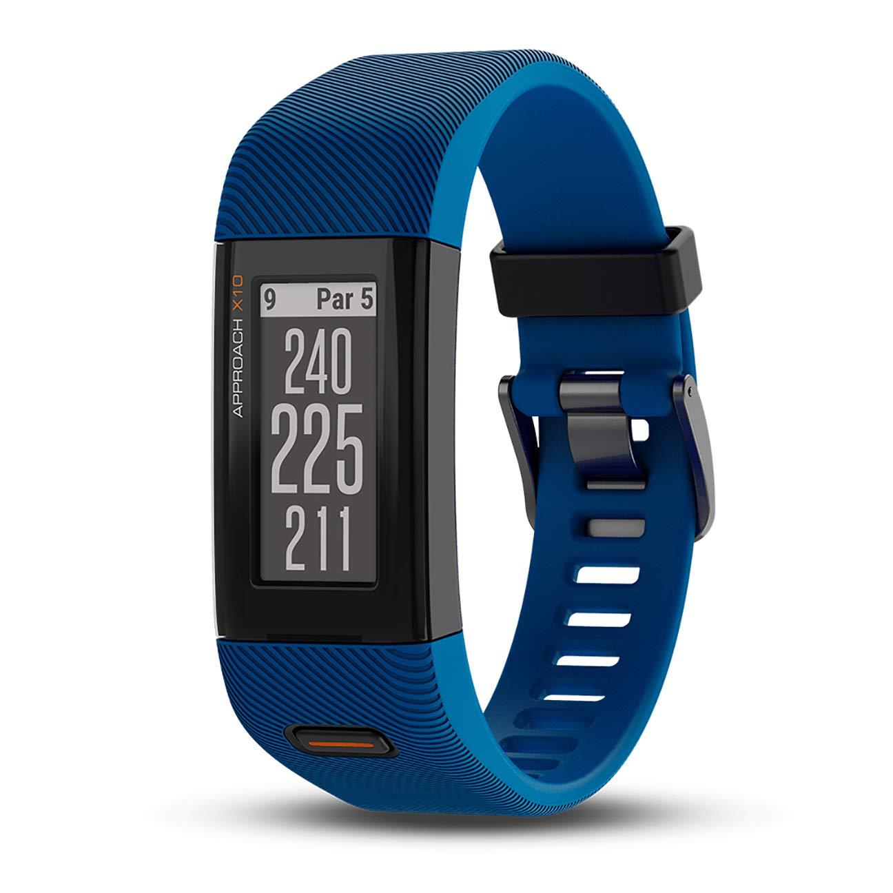 Garmin Approach X10, Lightweight GPS Golf Band, Blue by Garmin