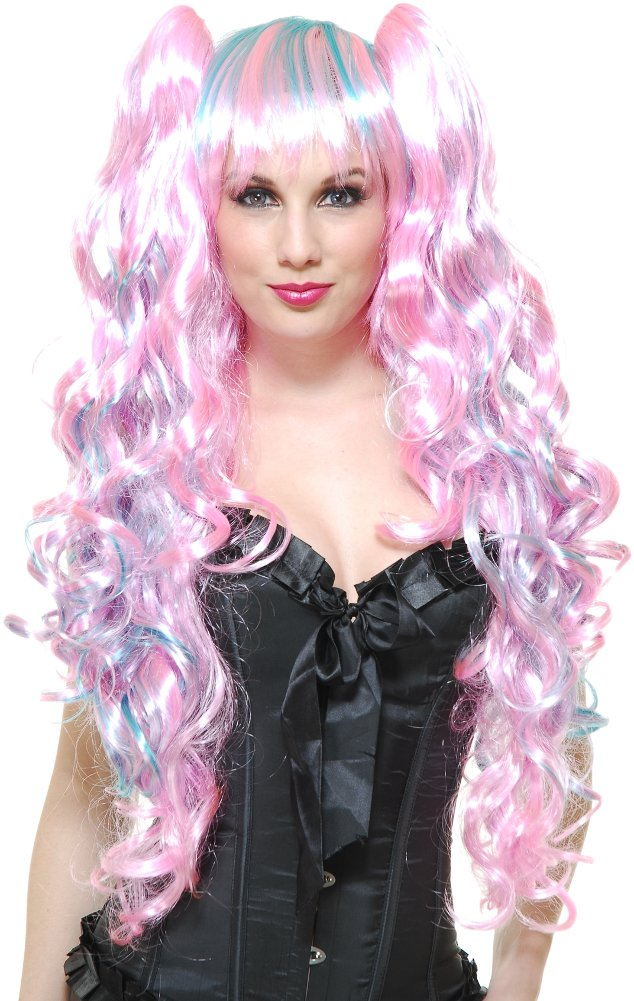 Charades Cotton Candy Wig