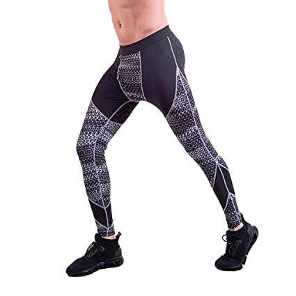 Amazon.com: Mens Sports Pants Summer Fitness Patchwork ...