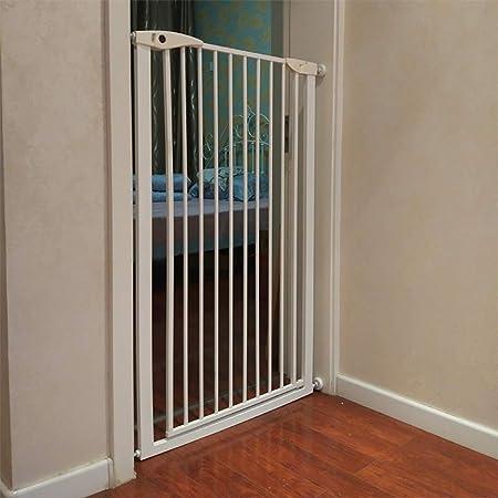 Barreras para puertas y escaleras Puerta de seguridad para niños Escaleras de bebé Puerta de seguridad Protección para bebés Valla para perros Puerta de aislamiento para mascotas Perforadora Altura 80: Amazon.es: Hogar