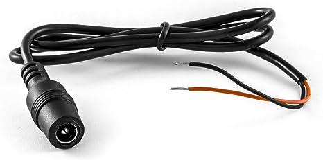 RCA, Video, Audio 12V 24V Spannungsversorgung Anschlusskabel Niedervoltstecker Carmedien 4 Pin R/ückfahrkamera Adapterkabel Version 1 Cinch Adapter