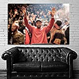 SDK mural #15 Poster Kanye West Madison Square Garden 30x40 inch (76x100 cm) Adhesive Vinyl