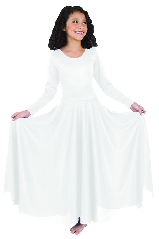 Body Wrappers DRESS ガールズ B00D45UKQM ホワイト 43687