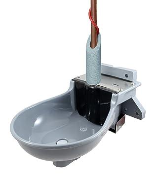 heizbares flotador Bebedero Lister SB 112 con calentador de tubería 2 m gris: Amazon.es: Productos para mascotas