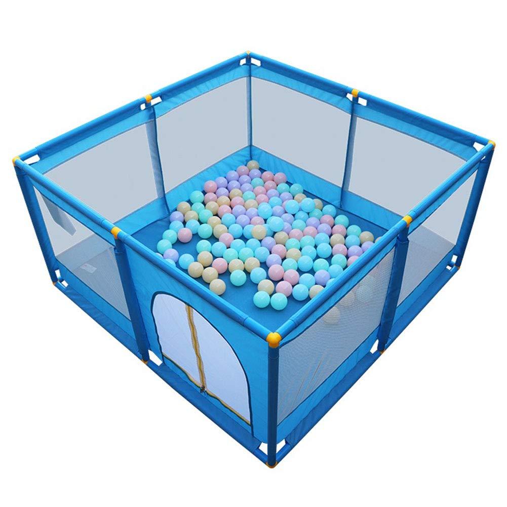 【70%OFF】 赤ちゃんの遊び場200ボール、屋内の安定した子供幼児子供ヘビーデューティーフェンスブルー128×128×66cm B07L56CT6T B07L56CT6T, ハママスムラ:72d2093f --- a0267596.xsph.ru