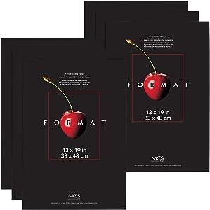 MCS Format Frame, 13 x 19 Inch, Black