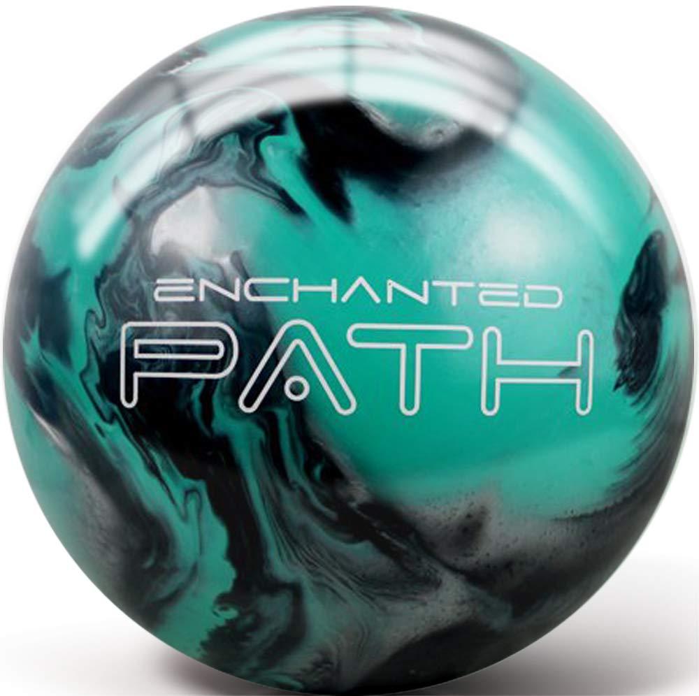 Pyramid Path Rising Bowling Ball (Enchanted Black/Teal/Silver, 16 LB) by Pyramid