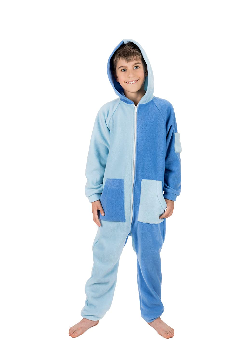 7f577f042c Sky Blues Go-Jamz  Unisex Fleece Jumpsuit