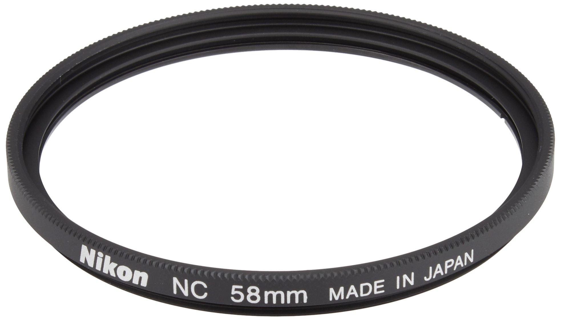 Nikon 2483 58mm NC Filter Attaches to HN-CP17 lens hoodInterchangeable Lens