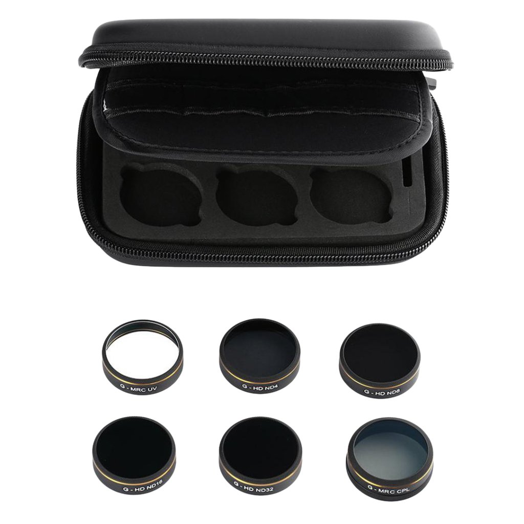 MonkeyJack UV ND4 ND8 ND16 ND32 CPL Filter Lens With Filter Lens Case For Phantom 4 Pro by MonkeyJack (Image #1)