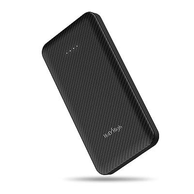 【13時05分まで】HolyHigh microUSB/USB-C入力対応 10000mAh モバイルバッテリー 送料込1,784円