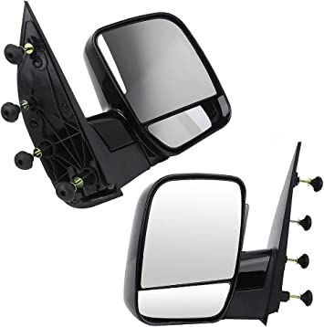 New Pair Side Mirrors Ford E-150 2003 2004 2005 2006 Power