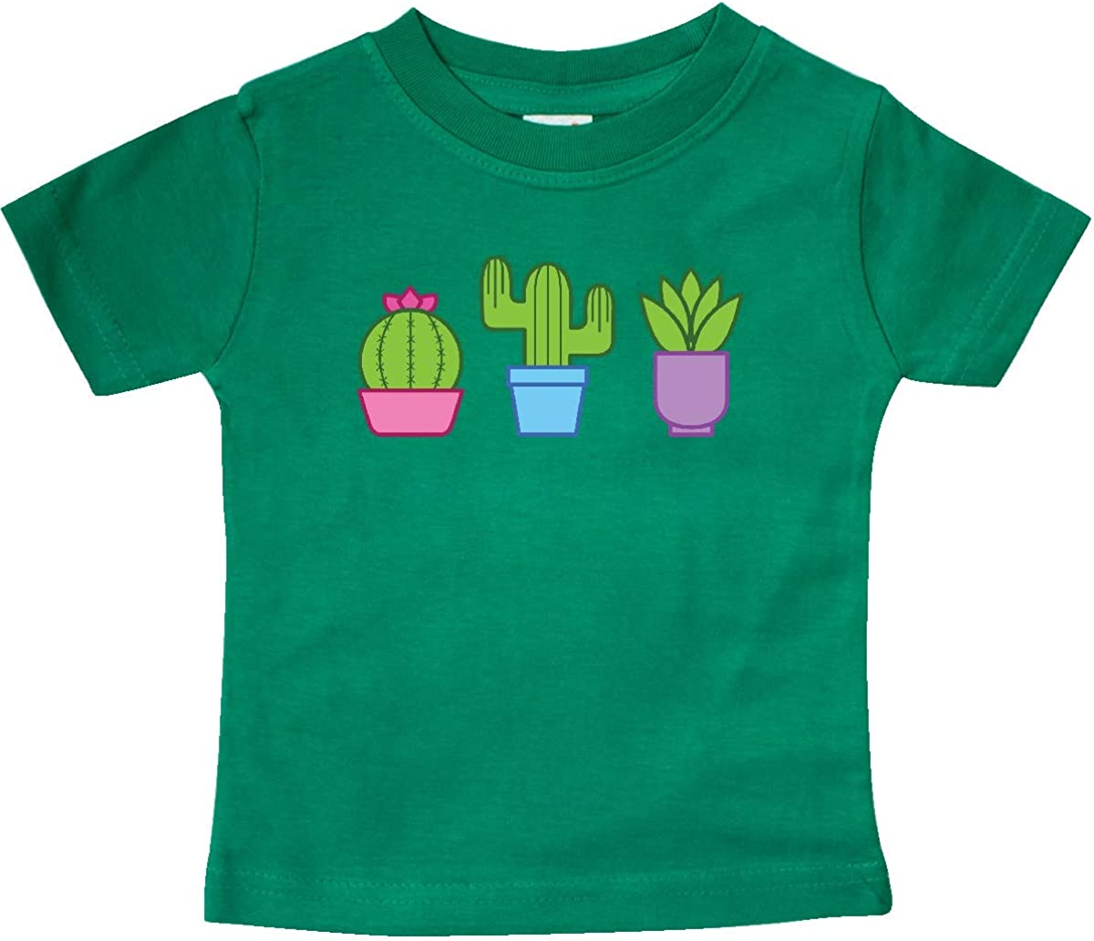 inktastic Cactus and Plants Baby T-Shirt