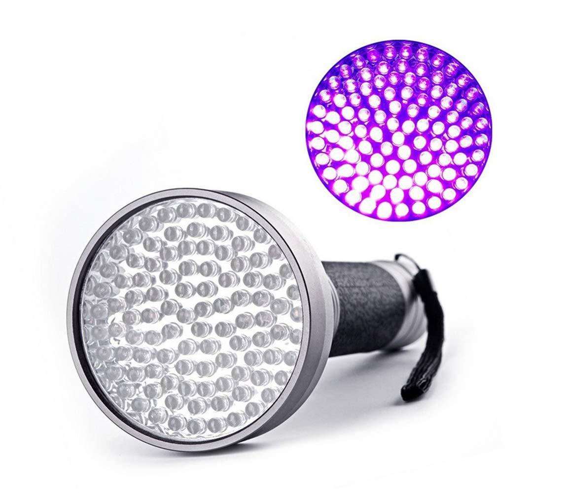 Tomorrow Sun Shine - Pets Blacklight UV Flashlight, UV Lights 100 LED Ultraviolet Blacklight Pet Urine Detector for Dog/Cat Urine,Dry Stains,Bed Bug,Silver by Tomorrow Sun Shine - Pets