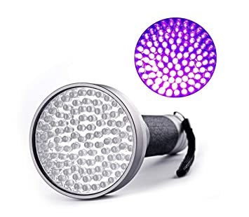 Tomorrow Sun Shine - Pets Luz Negra Linterna UV, UV Luces 100 LED Ultravioleta Negra