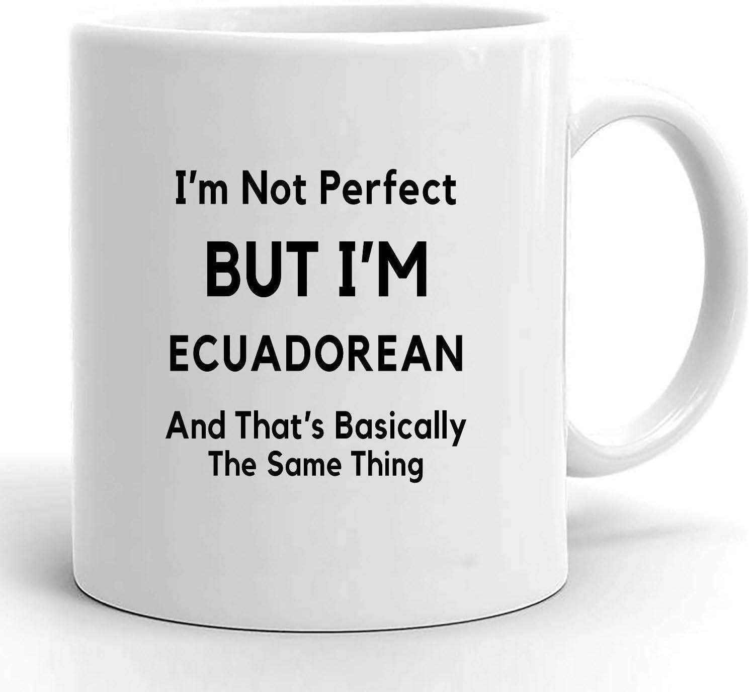 Regalo ecuatoriano regalo para ecuatoriano Regalos ecuatorianos Orgullo ecuatoriano Bandera ecuatoriana amo Ecuador Ecuador taza de café Ecuador presente