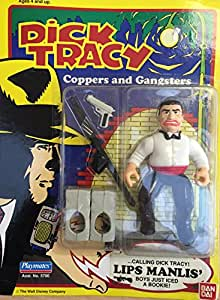 Dick Tracy Coppers and Gangsters Lips Manlis Action Figure