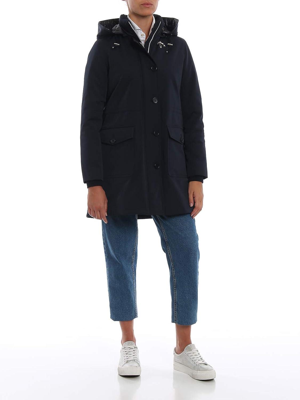 Imbottito Abbigliamento Blu Fay Con Donna Cappuccio Amazon Trench it 8q1II5