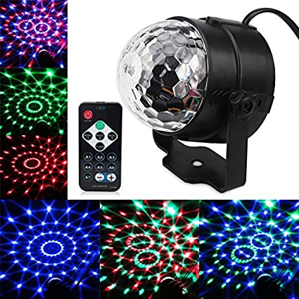 Lights & Lighting Commercial Lighting Dj Disco Ball Projector Christmas Light Effect Party Music Lamp Led Stage Light Disco Lights Lumiere Sound Activated Laser