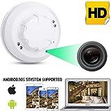 WiFi HD 1080P Cámara IP Mini Detector de Humo Detección de Movimiento Nanny CAM DVR,