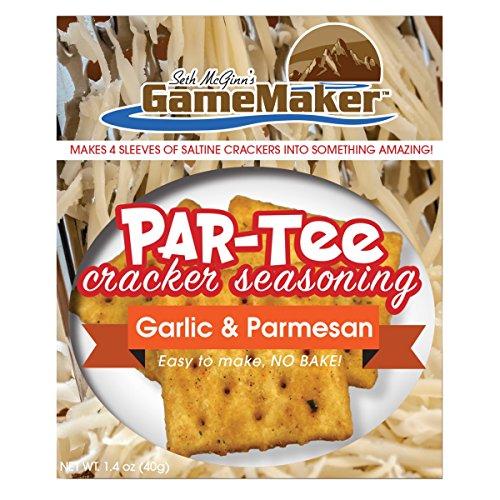 CanCooker Par-Tee Cracker with Seasoning - Garlic & Parmesan (40g), 1.4 oz