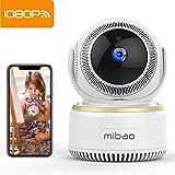 Camaras de Vigilancia Wifi Interior Mibao 1080P Camara Vigilancia Camara IP Wifi, Monitor Para Bebé / Mascota,HD Visión Nocturna, Detección de Movimiento Remoto, Alarma de Correo Electrónico