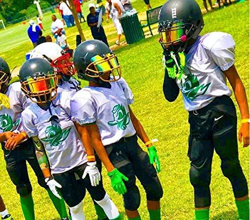 e0ab71c3 EliteTek Color Football & Lacrosse Eye-Shield Facemask Visor - Fits Youth &  Adult Helmets