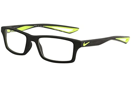 04b0020fde9e Amazon.com: Eyeglasses NIKE 4678 001 BLACK/VOLT: Sports & Outdoors