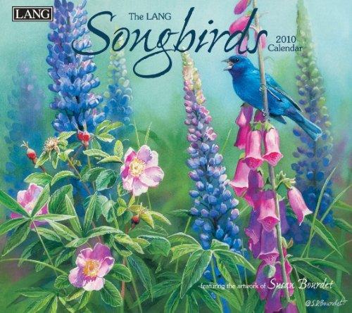 Songbirds 2010 Wall Calendar ()