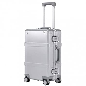 ba6d051f6 20 Inch Smart Bluetooth 4.0 Metal Luggage Travel Suitcase Universal Wheel Trolley  Case: Amazon.co.uk: Luggage