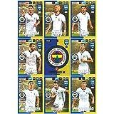 Panini FIFA 365 Adrenalyn XL 2017 Fenerbahce Logo Badge and Team Mates Trading Cards